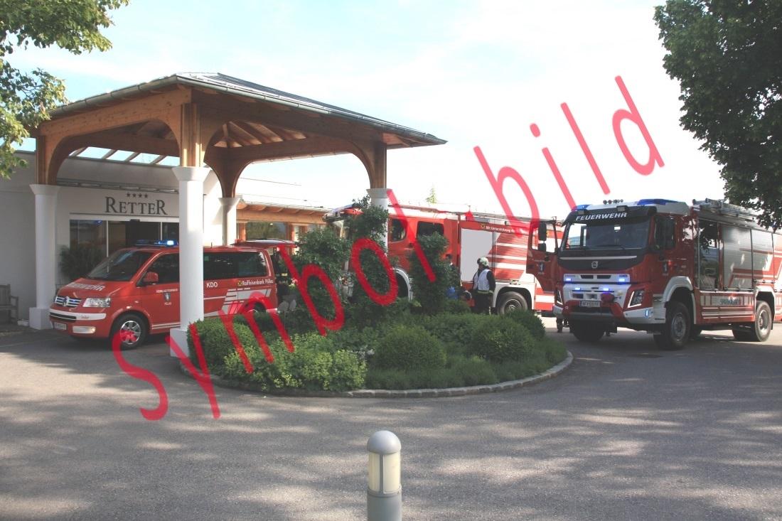 Brandmeldeanlagenalarm im Hotel Retter