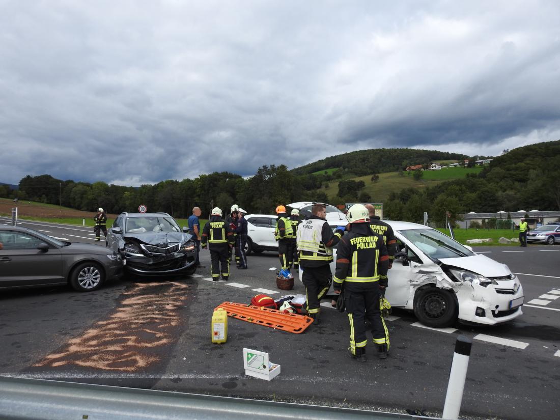 Verkehrsunfall Höhe Obstpresserei Kremser