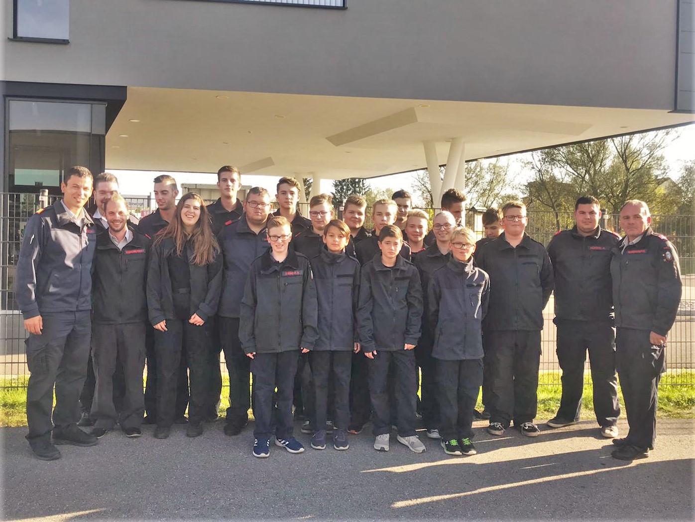 Erfolgreiche Feuerwehrjugend beim Wissenstest in Lafnitz