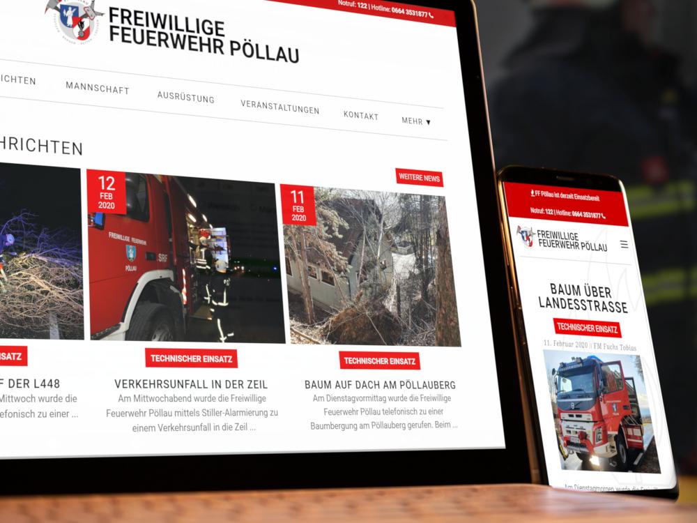 Homepage der 4. Generation online
