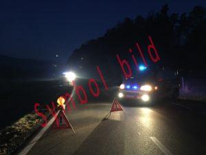 Verkehrsunfall Nacht