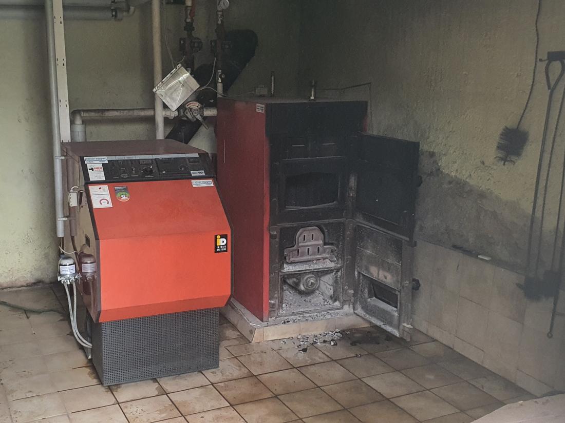 Überhitzter Ofen in Pöllau