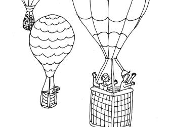 Bild 28 mit Text - Heißluftballone