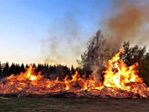 Brauchtumsfeuer verboten