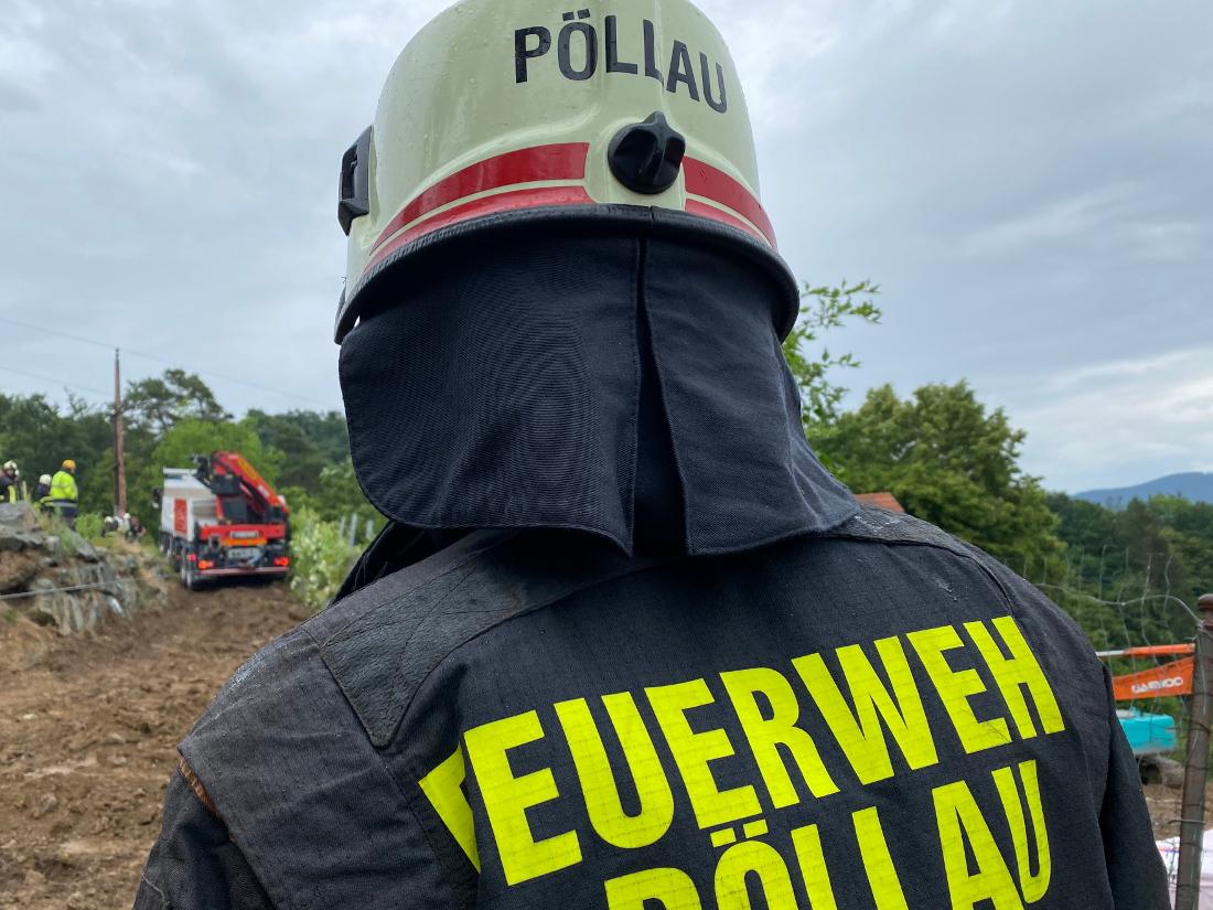 LKW-Bergung in Schönau