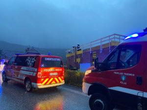 Unwettereinsatz in Oberneuberg