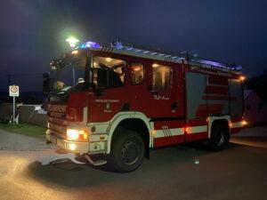 Brandverdacht im Ortsteil von Pöllau