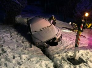 Fahrzeugbergungen nach Wintereinbruch