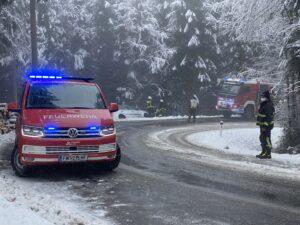 PKW-Bergung am Rabenwald