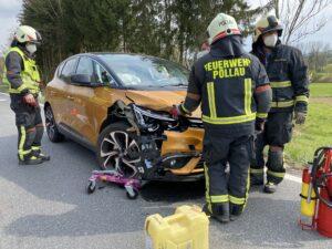 Verkehrsunfall auf der L406