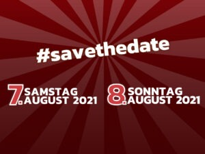 Vormerken: 7. & 8. August