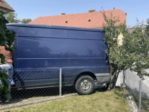 Fahrzeugbergung im Pöllauer Ortsgebiet