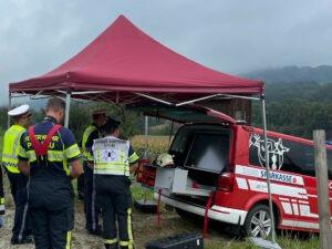 Schwerer Busunfall in Obertiefenbach