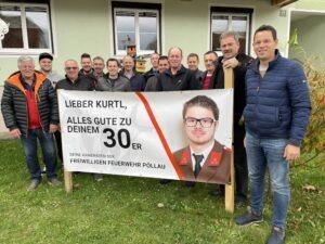 30. Geburtstag von LM d.F. Kurt Wilfinger