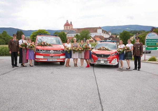 145-Jahr Festakt mit Segnung der beiden neuen Fahrzeuge