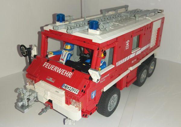 KLF-A Pinzgauer als RC LEGO Modell