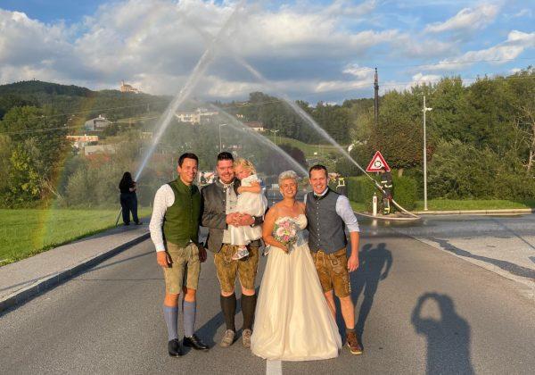 Feuerwehrhochzeit: Alexander & Alexandra