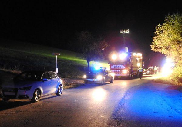 Verkehrsunfall in Prätis
