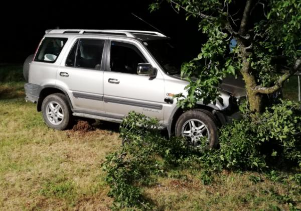 Verkehrsunfall in Oberneuberg