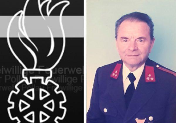 Kamerad HFM Johann Petz verstorben