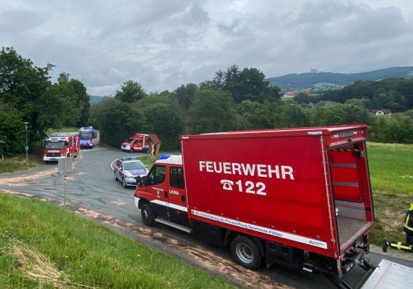 Schadstoff-Alarm in Pöllau