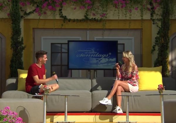 OFM Manuel Edlinger im deutschen TV