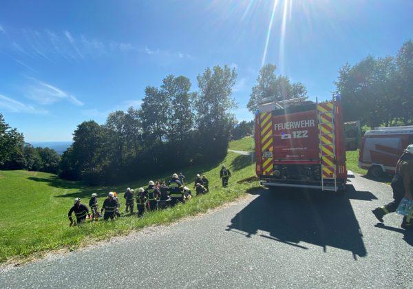 Schwerer Verkehrsunfall in Köppelreith