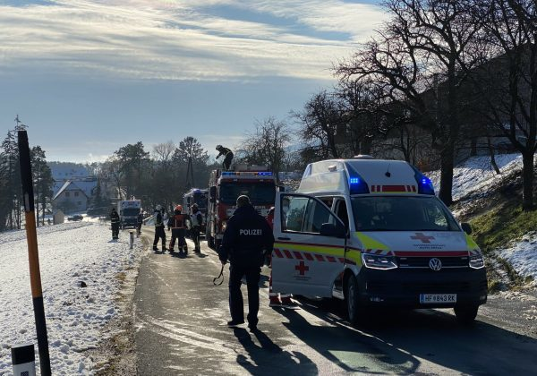Verkehrsunfall auf der L431