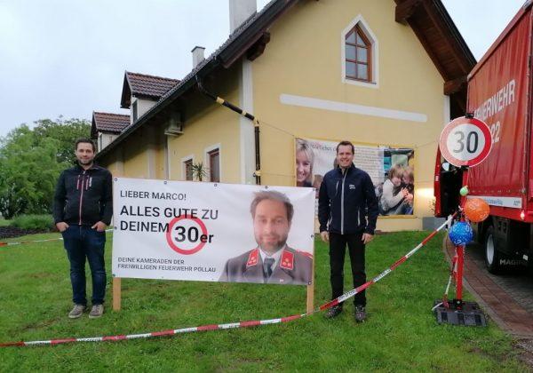 30. Geburtstag von HFM Marco Rosenmaier