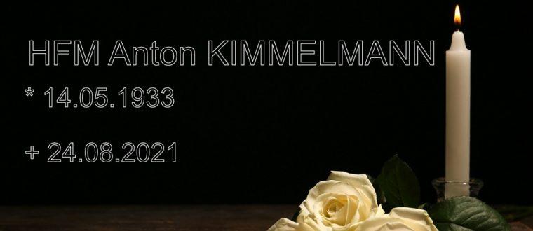 HFM Anton Kimmelmann verstorben