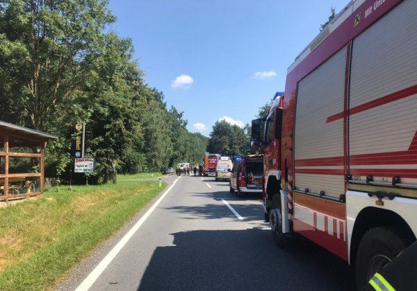 Schwerer Verkehrsunfall in Winzendorf