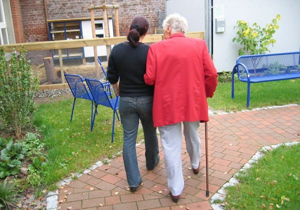 Seniorenzentrum der Volkshilfe für Besucher gesperrt