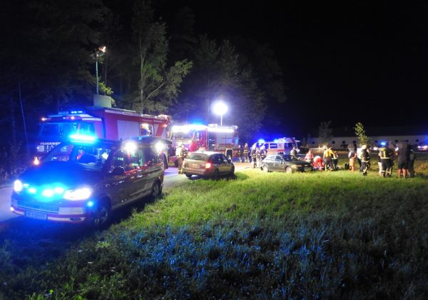 Verkehrsunfall mit einer verletzten Person